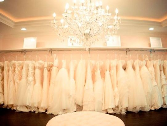 Secretos para encontrar tu vestido de novia