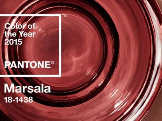 MARSALA, el color del 2015