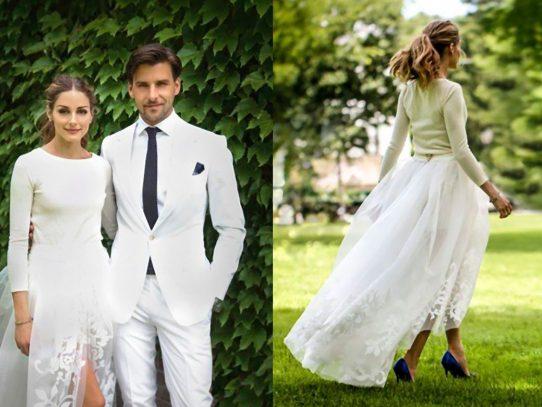 Olivia Palermo y su boda sencilla
