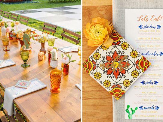 Mosaicos para decorar tu boda: ¡La revolución del color!