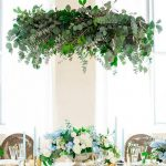 Floral chandeliers la tendencia de decorar con flores