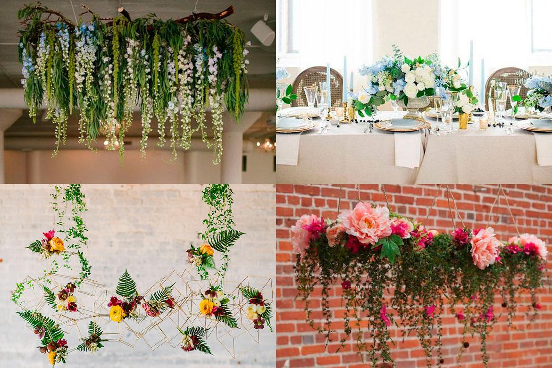 Floral Chandeliers: una increíble idea de decoración.