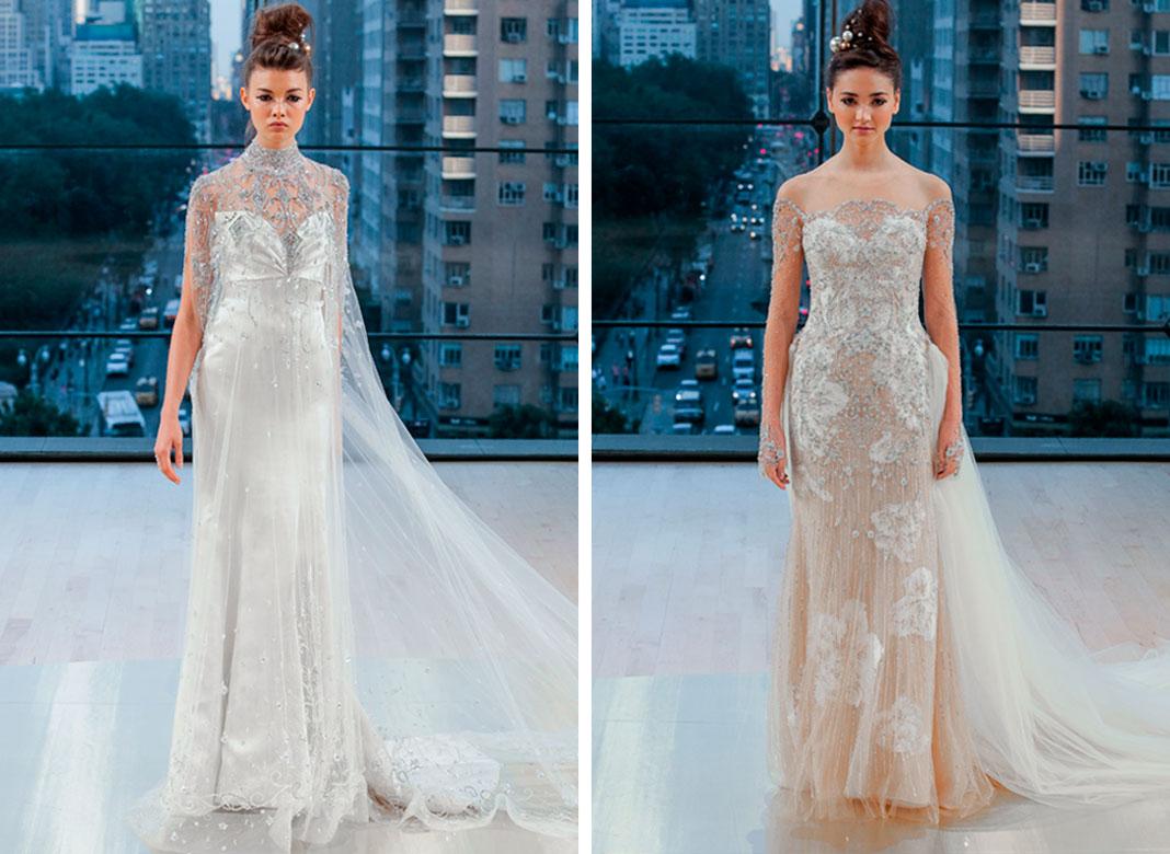 Los vestidos de novia para el 2018 • Only Once®