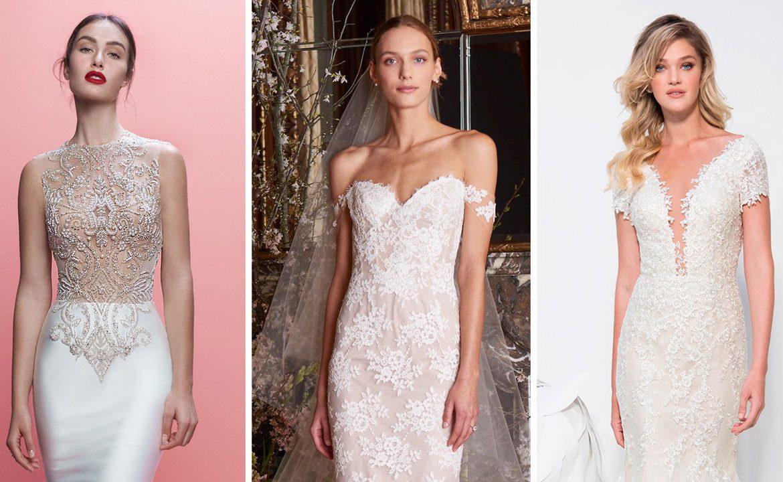 Vestidos de novia corte sirena 2019: Más de 20 diseños para ti