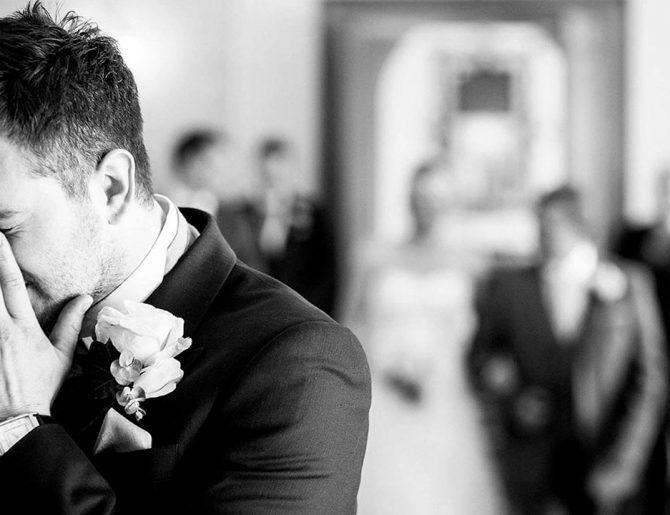 Las 13 reacciones más lindas de un novio al ver a su novia