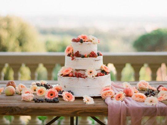 4 propuestas de pasteles de ensueño para el día de tu boda