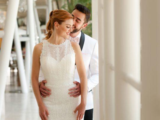 Un estilismo de novia único