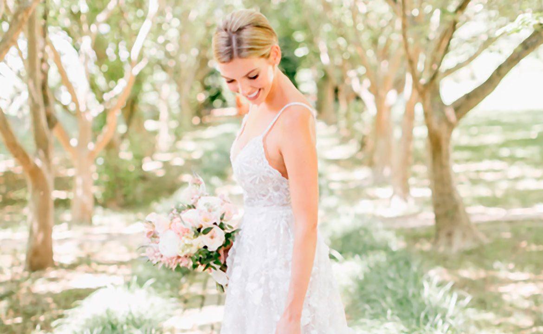 Los detalles más bonitos en vestidos de novia