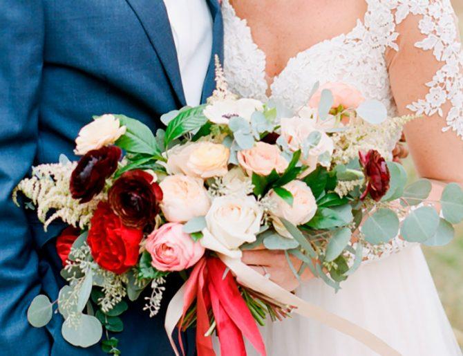 Tendencias de ramos para novia 2019