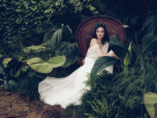 El vestido de novia que debes usar esta temporada