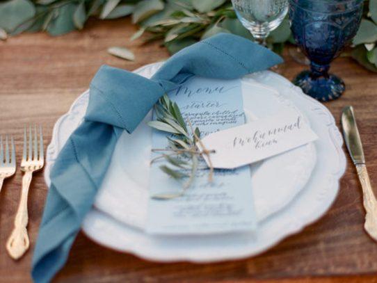 Ideas originales para diseñar el menú de la boda: ¡Atención!