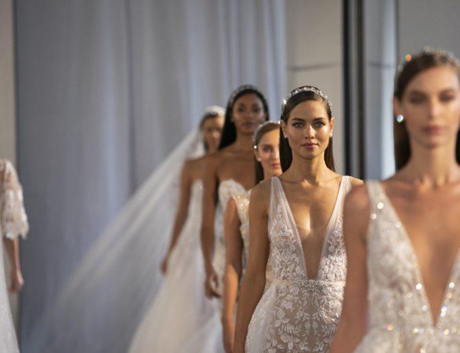 Bridal Trends 2020 en vestidos estilo columna ¡Toma nota!