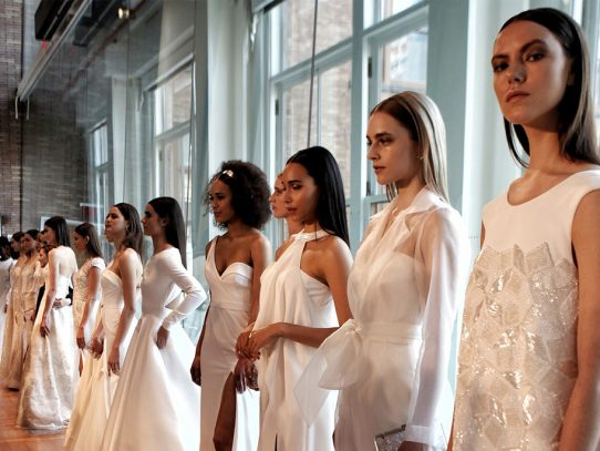Rompe las reglas con estos bridal fashion trends 2020