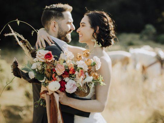 A Cowboy Bride ¡Una sesión de fotos espectacular!