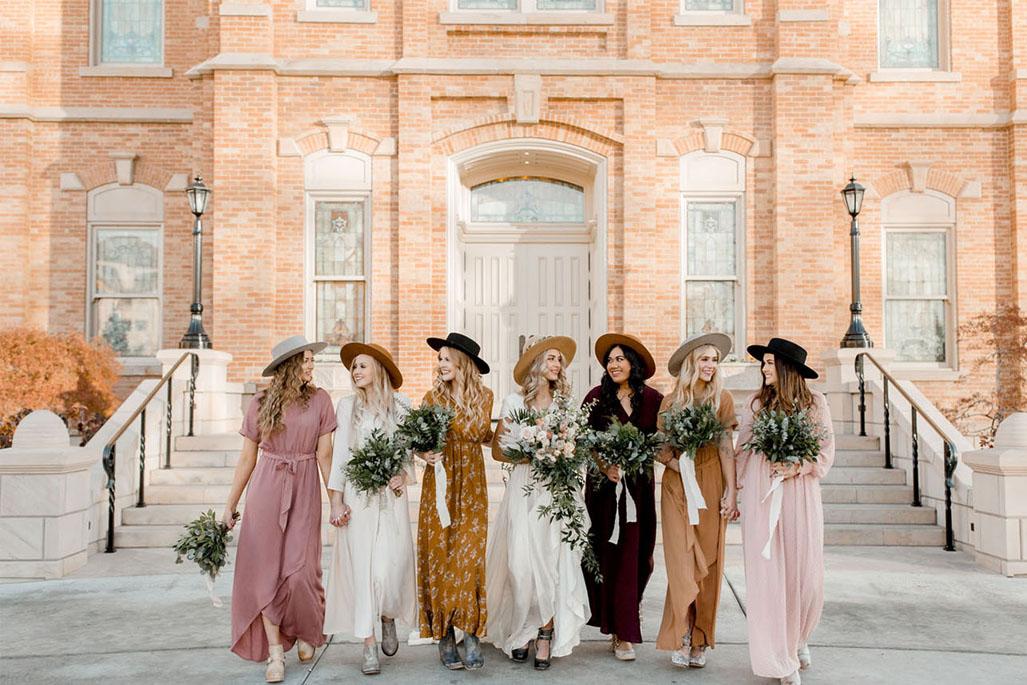 Saca el lado más fashionista de tus Bridesmaids ¡Atención!