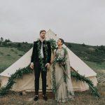 boda bohemia sustentable