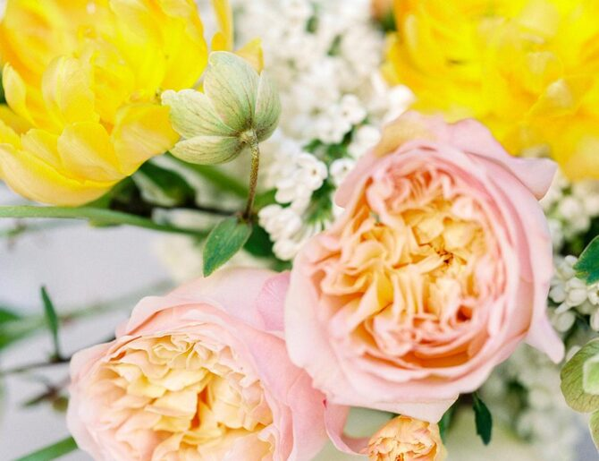 La estación floral para tu boda
