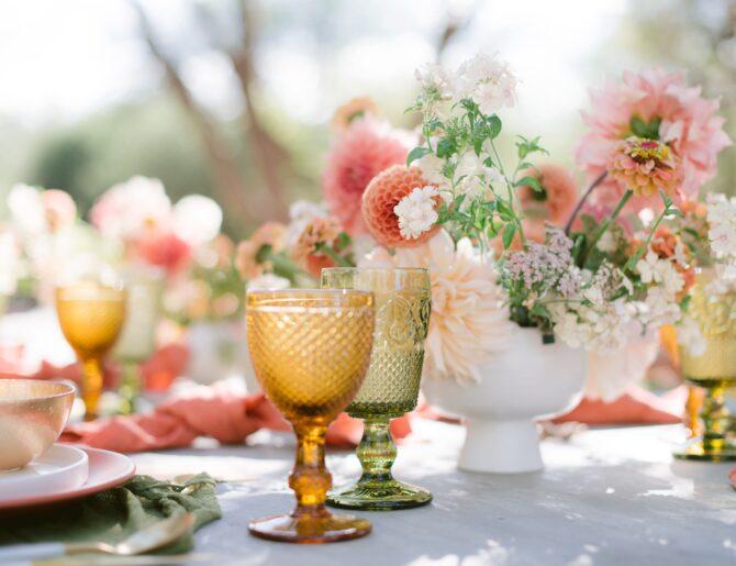 La paleta de color perfecta para tu boda