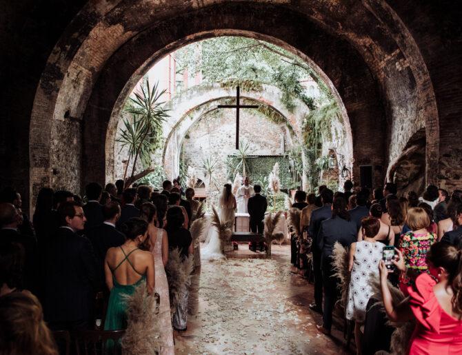 Las iglesias más solicitadas para bodas en CDMX