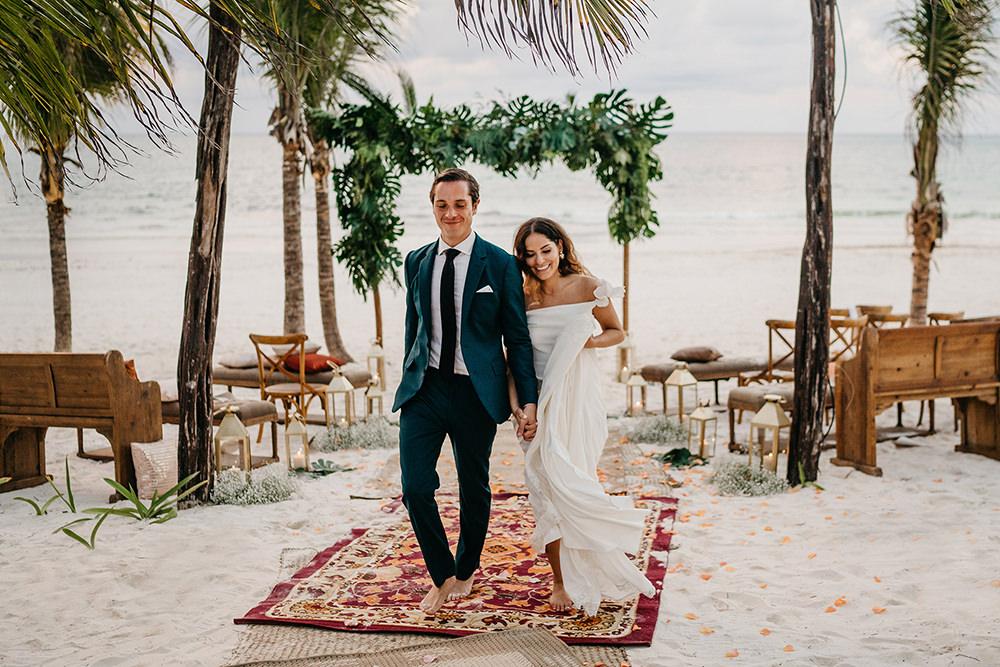 TULUM WEDDING PHOTOGRAPHER AT CASA MALCA