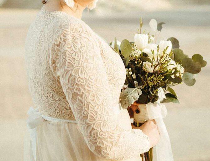 Las siluetas más lindas para novias Plus Size